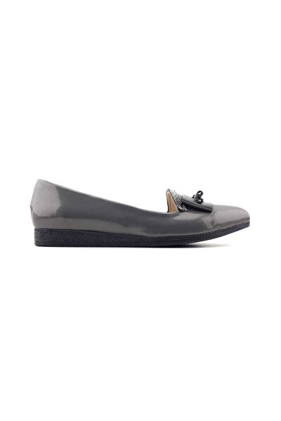 426023 Kadın Günlük Ayakkabı-platin Rugan
