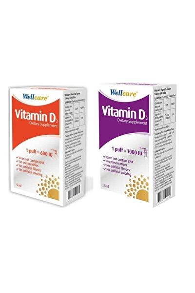 Vitamin D3 1000 & Vitamin D3 600