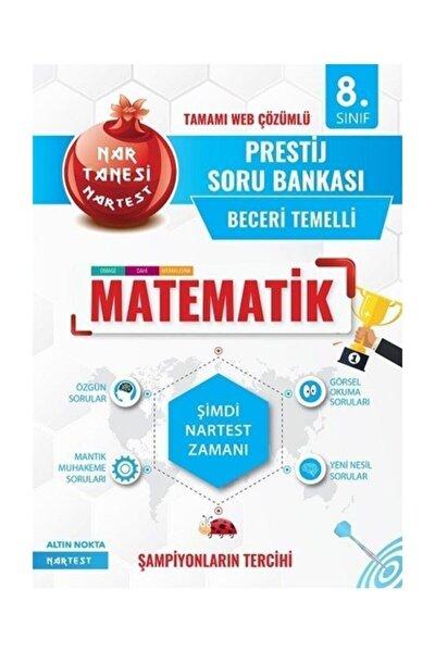 Nartest Yayınları 8. Sınıf Matematik Nar Tanesi Prestij Soru Bankası