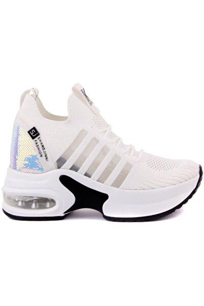 Kadın Beyaz Spor Ayakkabısı