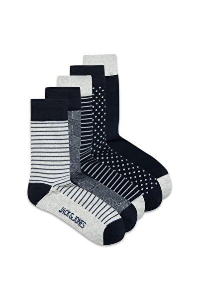 Noos - Jaclıght Grey Sock 5 Pack Noos 12185708