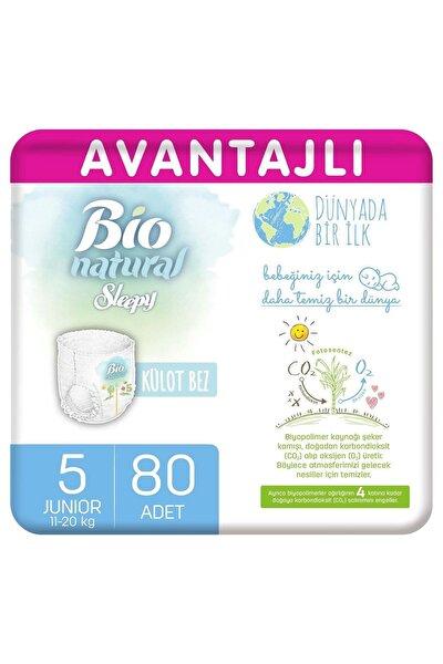 Bio Natural Avantajlı Külot Bez 5 Numara Junior 80 Adet