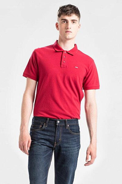 Erkek Kırmızı Housemark Good Polo Yaka T-shirt 24574-0038