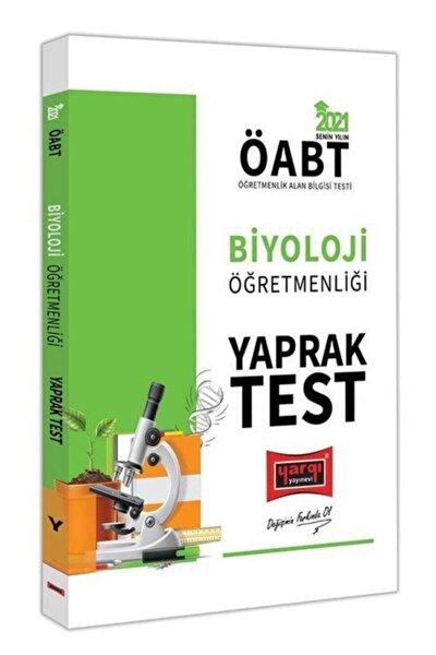 Yargı Yayınları 2021 Öabt Biyoloji Öğretmenliği Yaprak Test
