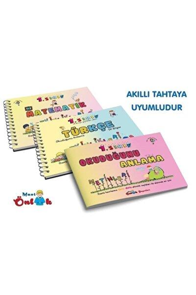 Mavi Önlük Yayınları 1.sınıf Türkçe Matematik Okuduğunu Anlama Etkinlikleri 3.kitap