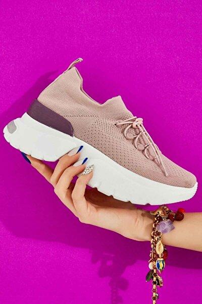 Mor Kadın Sneaker K01816153482