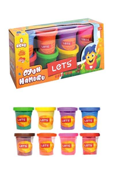 Oyun Hamuru 8 Renk 600 gr L8358