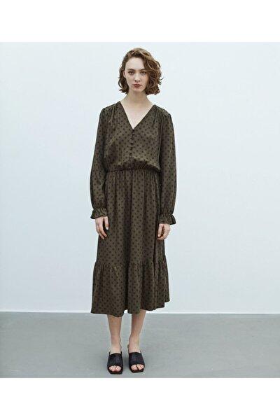 Puantiye Desen Elbise