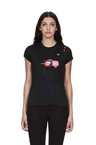 Kadın T-shirt Siyah