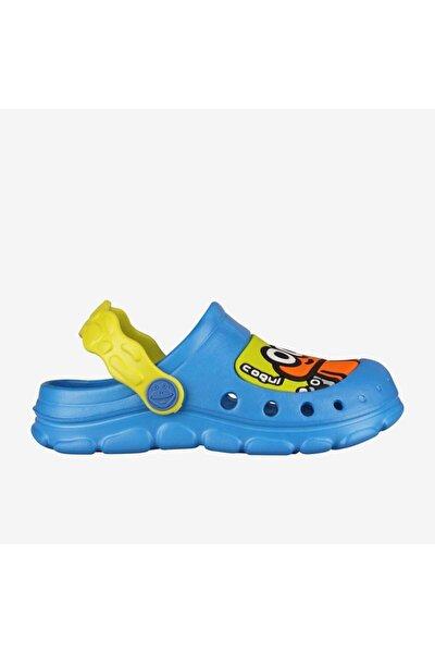 9383 Stoney Çocuk Terlik - Sandalet Mavi-23/24