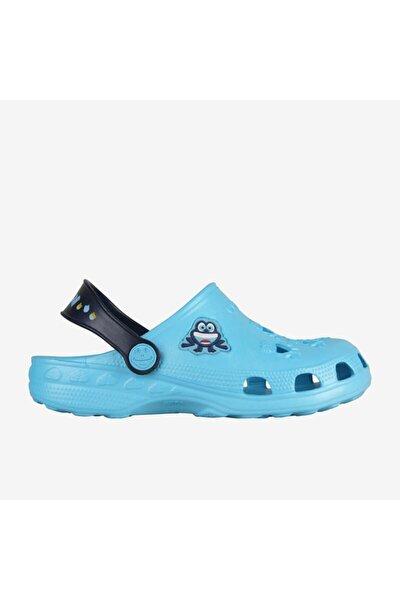 8701 Little Frog Çocuk Terlik - Sandalet Açık Mavi-23/24