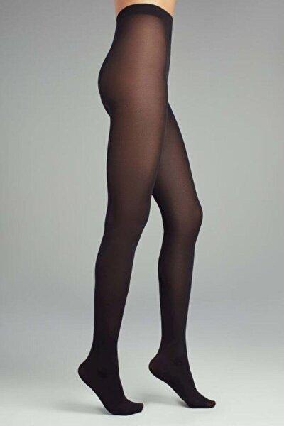 Kadın Siyah Mikro 40 Külotlu Çorap