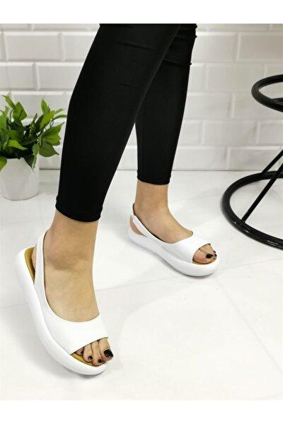 Lastikli Kadın Sandalet Ls02