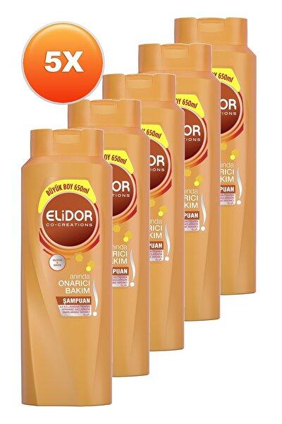 Anında Onarıcı Bakım Saç Bakım Şampuanı 650 ml. Beşli Set