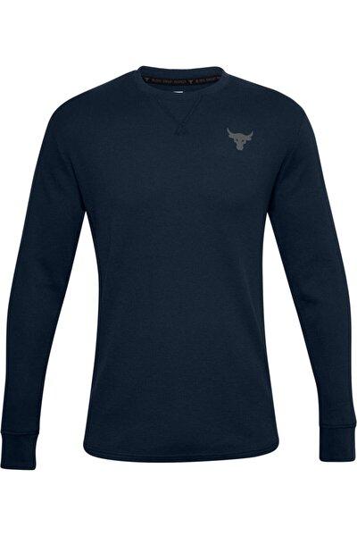 Erkek Spor T-Shirt - Ua Pjt Rock Waffle Crew - 1358757-408