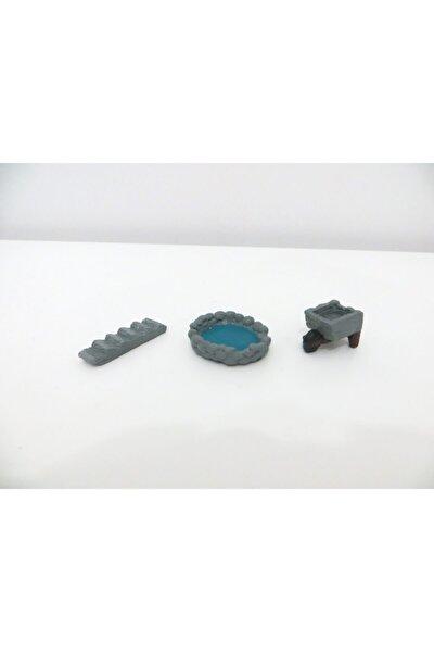 Çiftlik Set Teraryum Minyatür Obje