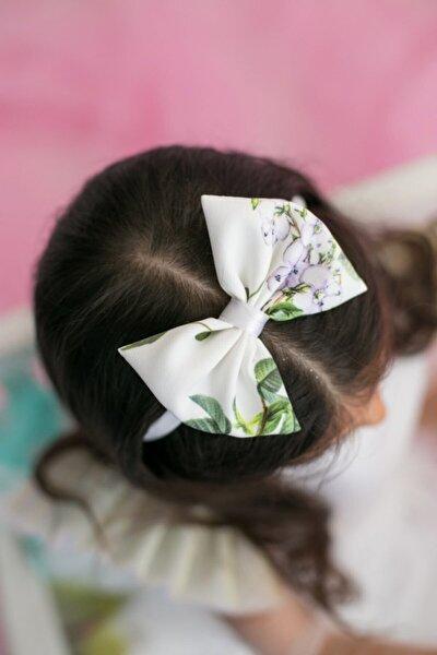 Ekru Kız Çocuk Bandana Fiyonk Freedom