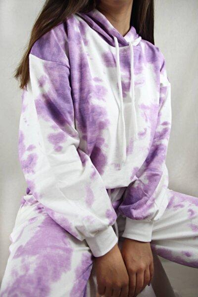 Batik Beli Lastikli Sweatshirt