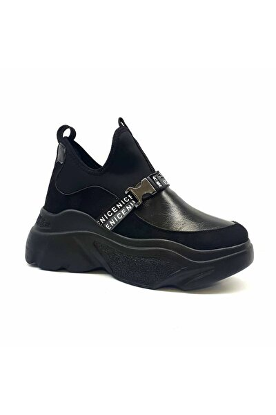 3243 Kadın Gizli Topuk Sneaker Ayakkabı