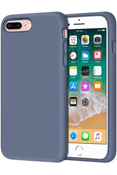 Iphone 7 Plus / 8 Plus Içi Kadife Lansman Silikon Kılıf