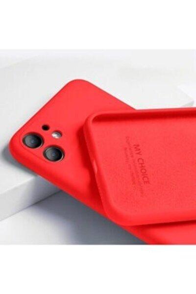 Iphone 11 Renkli Kamera Korumalı Silikon Kılıf