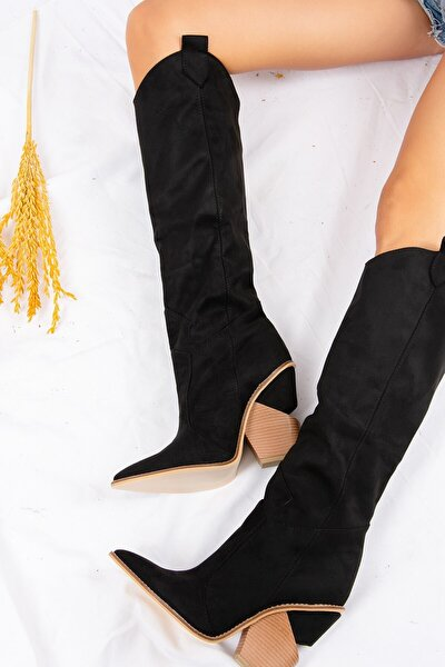Siyah Kadın Çizme J372537202