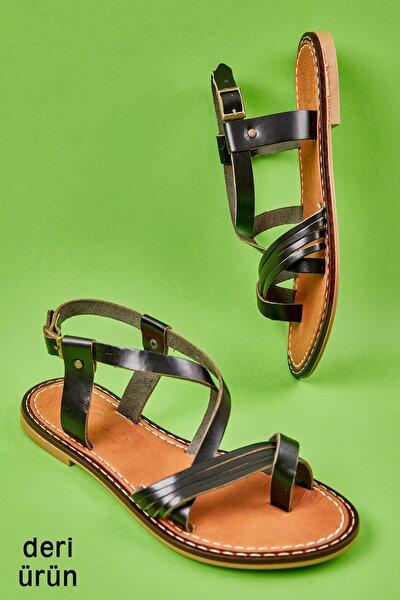 Sıyah Kadın Sandalet L0602999903