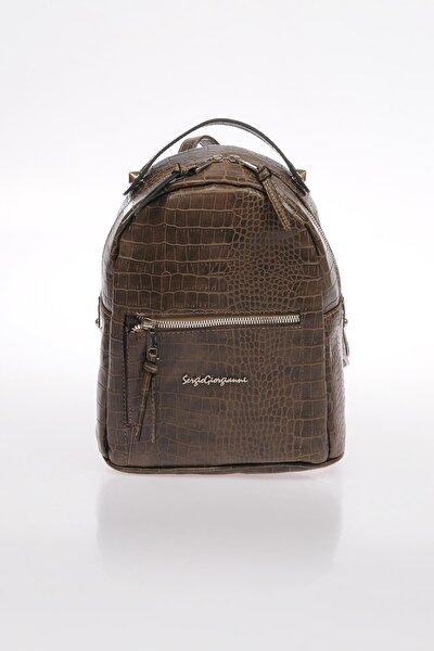 Luxury Sg1082019-3 Vizon Kadın Sırt Çantası