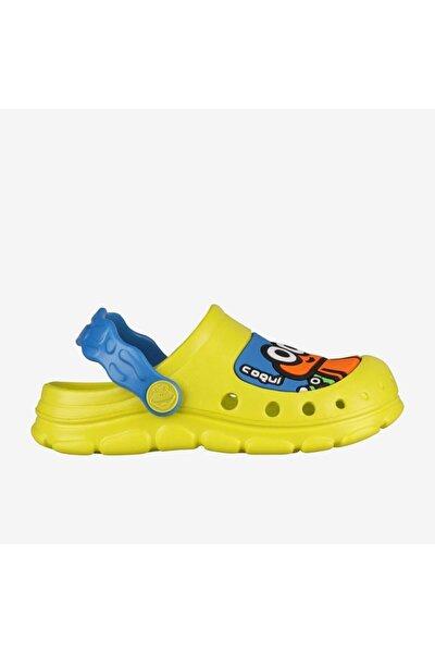 9383 Stoney Çocuk Terlik - Sandalet Sarı-21/22