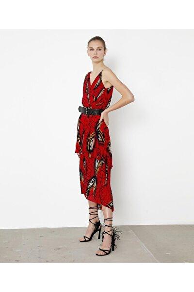 Piliseli Anvelop Form Elbise