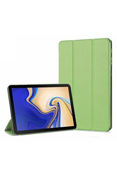 Galaxy Tab A 10.5'' T590 Smart Case Ve Arka Kılıf, Microsonic Yeşil