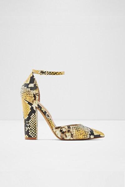 Nıcholes - Sarı Kadın Topuklu Ayakkabı