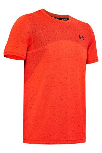 Erkek Spor T-Shirt - Ua Seamless Ss - 1351449-628