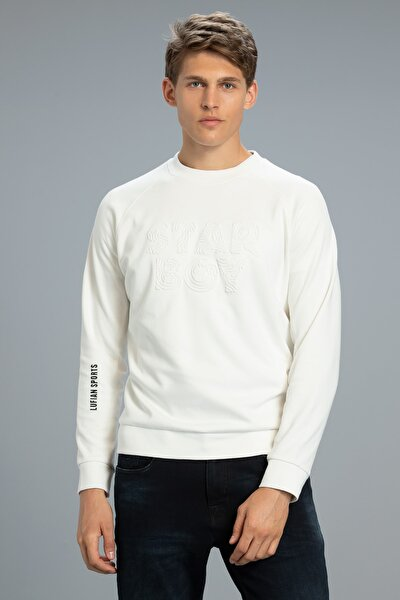 Uno Sweatshirt Kırık Beyaz