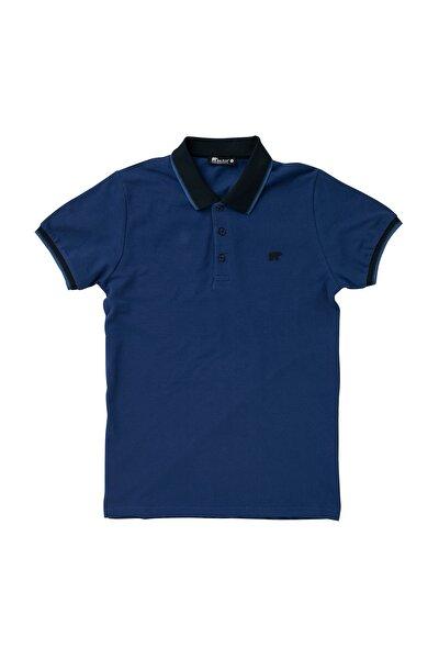 Pınstrıpe Pıque Polo Mavi Polo Tişört