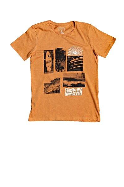 Çocuk Turuncu Like Waters Tişörtü Eqbzt04151-nlfh