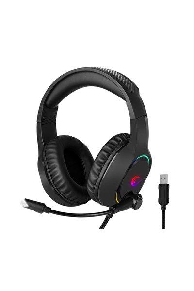 Bygame-x3 Siyah 7.1 Usb Surround Rgb Işık Efektli Gaming Oyuncu Mikrofonlu Kulaklık