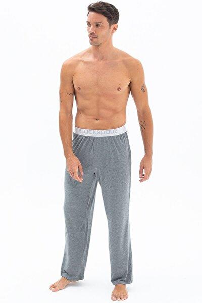 Black Spade 9304 %94 Modal Kumaş Silver Serisi Erkek Pijama Altı Gri