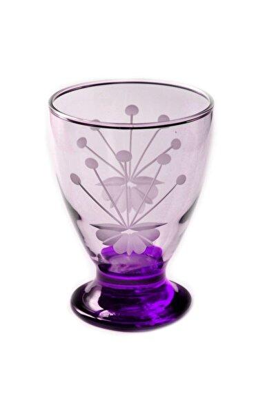 41011 Çın Çın 12 Adet (Mor Frezya) Su-meşrubat Bardağı