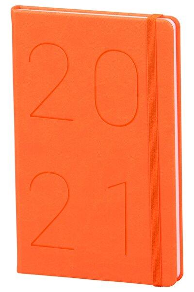 2021 Günlük Ajanda Turuncu