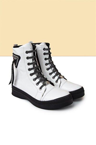 PC-50727 Beyaz Kadın Ayakkabı