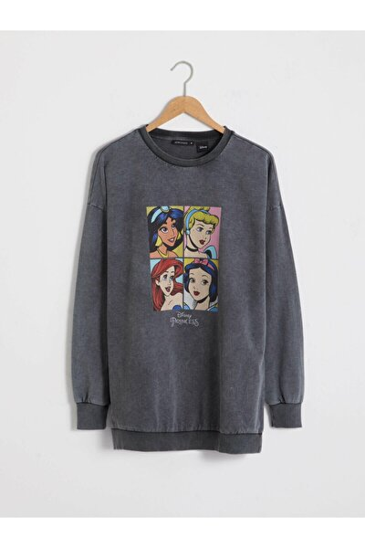 Mickey Mouse Kadın Anthracıte Rodeo M0U Sweatshirt
