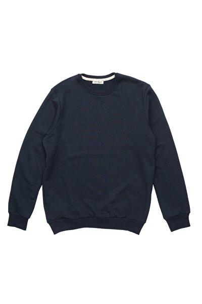 Börd&co Lacivert Basic Sweatshirt