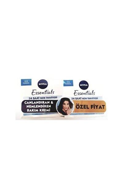 Essentials Canlandırıcı Gündüz Kremi 50 ml Normal-karma 2'li