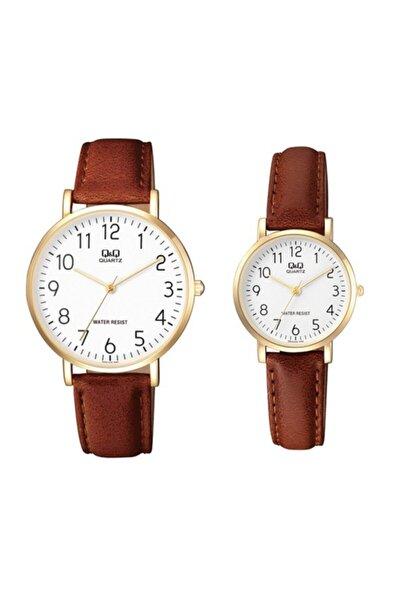 Çift Saatleri Sevgili Saatleri Erkek-bayan Kol Saati Taba