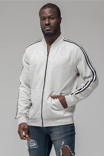 2019 Cepli Fermuarlı Erkek Sweatshirt