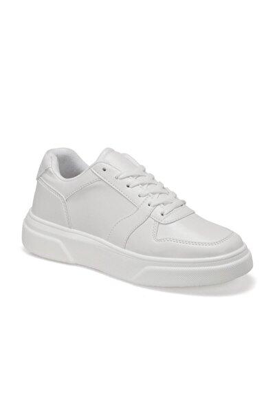 ENZO Beyaz Erkek Kalın Taban Sneaker Spor Ayakkabı 100577270