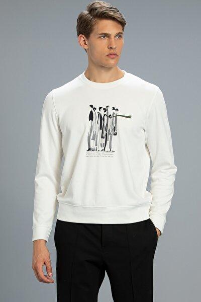 Stıllo Sweatshirt Kırık Beyaz