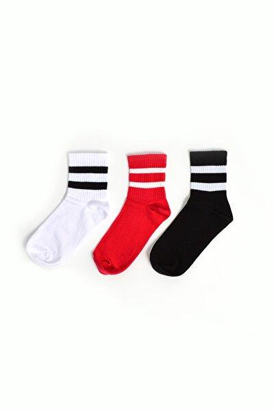 Spor Çorap 3 Lü Set