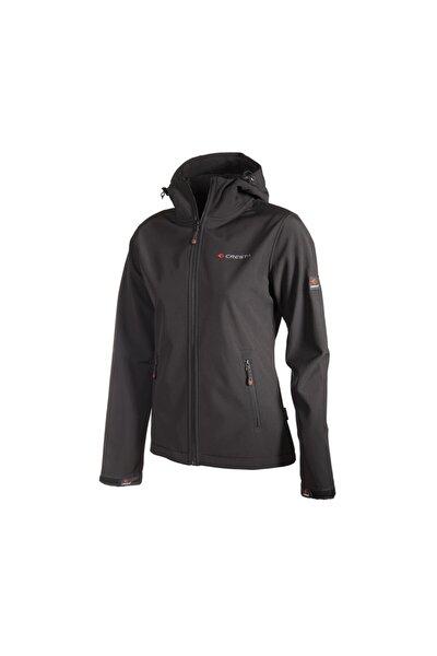 Outdoor Kapüşonlu Kadın Basic Softshell Ceket